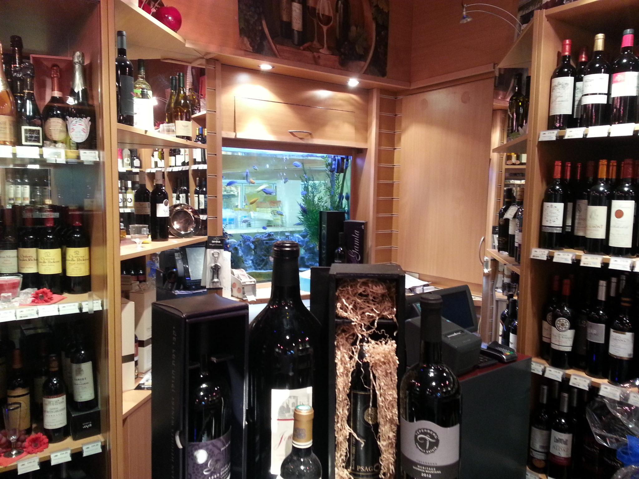 Wine Shop Aquarium